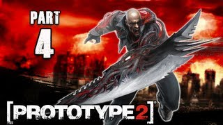 Prototype 2 Walkthrough - Part 4 Operation Flytrap  PS3 XBOX PC  (P2 Gameplay / Commentary)
