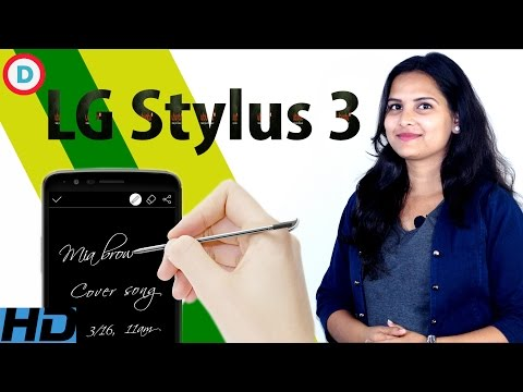 LG Stylus 3 - Pen Enabled 4G VOLTE Smartphone | Price & Full Features In Hindi