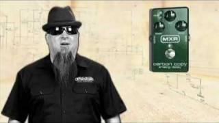 MXR M169 Carbon Copy Analog Delay Pedal Video Demo