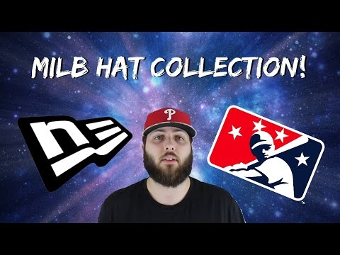New Era MiLB Hat Collection! - August 2015