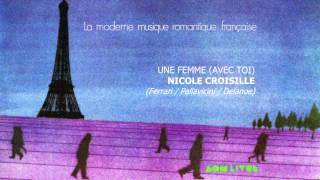 LP Moderne Musique Française :: Nicole Croisille - Une Femme Avec Toi :: 1976