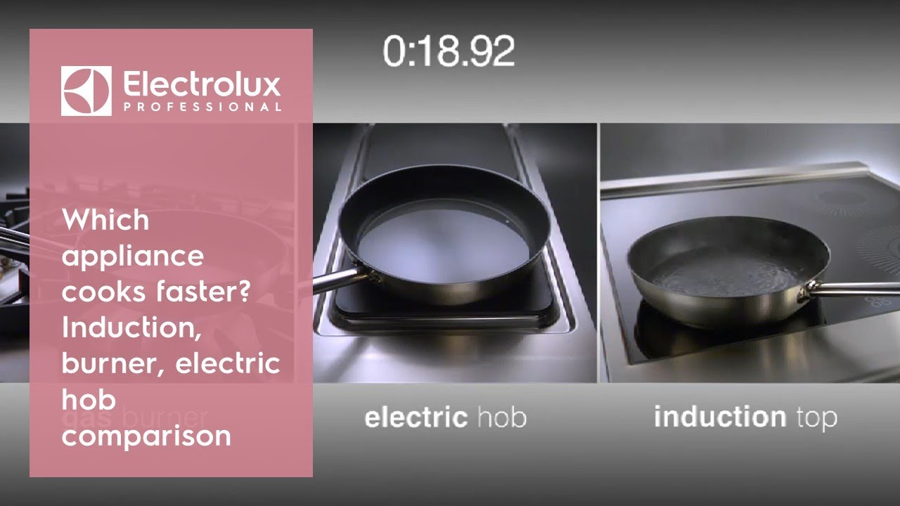 Which Liance Cooks Faster Induction Burner Or Electric Hob