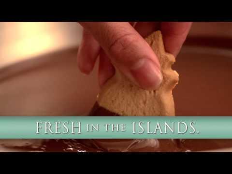 Chocolate Dipped Fortune Cookies Honolulu