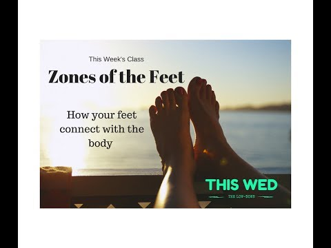 REFLEXOLOGY: Zones of the Feet