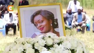 Emotional send-off for Monica Kimani held in Nakuru