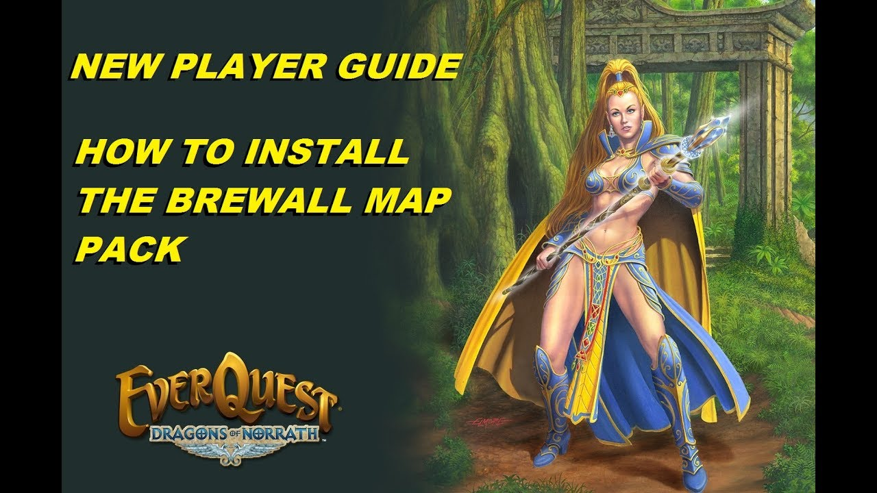 EVERQUEST GUIDE - How to install brewall maps tutorial (1080p)