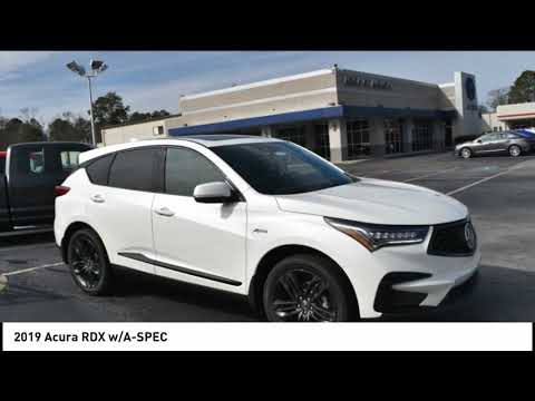 Acura Of Augusta >> 2019 Acura Rdx Augusta Ga A1491 Youtube