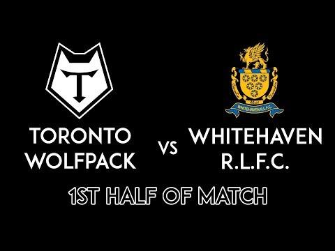 Toronto Wolfpack v Whitehaven RLFC - 1st Half