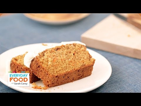 Carrot Tea Cake with Cream Cheese Frosting - Everyday Food ...