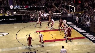 NBA Live 08 PC Gameplay Highlights (Modded)