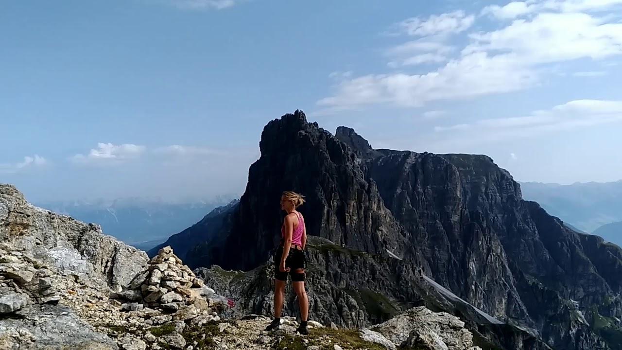 Klettersteig Ilmspitze : Klettersteig auf die ilmspitze 2.692 m youtube
