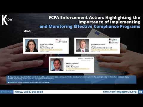 fcpa-enforcement-action-cle:-effective-compliance-programs