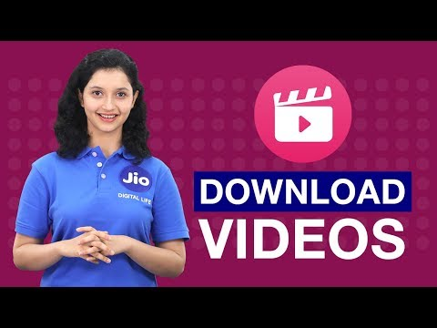 Jio Cinema - How To Download A Video On Jio Cinema(Hindi)   Reliance Jio