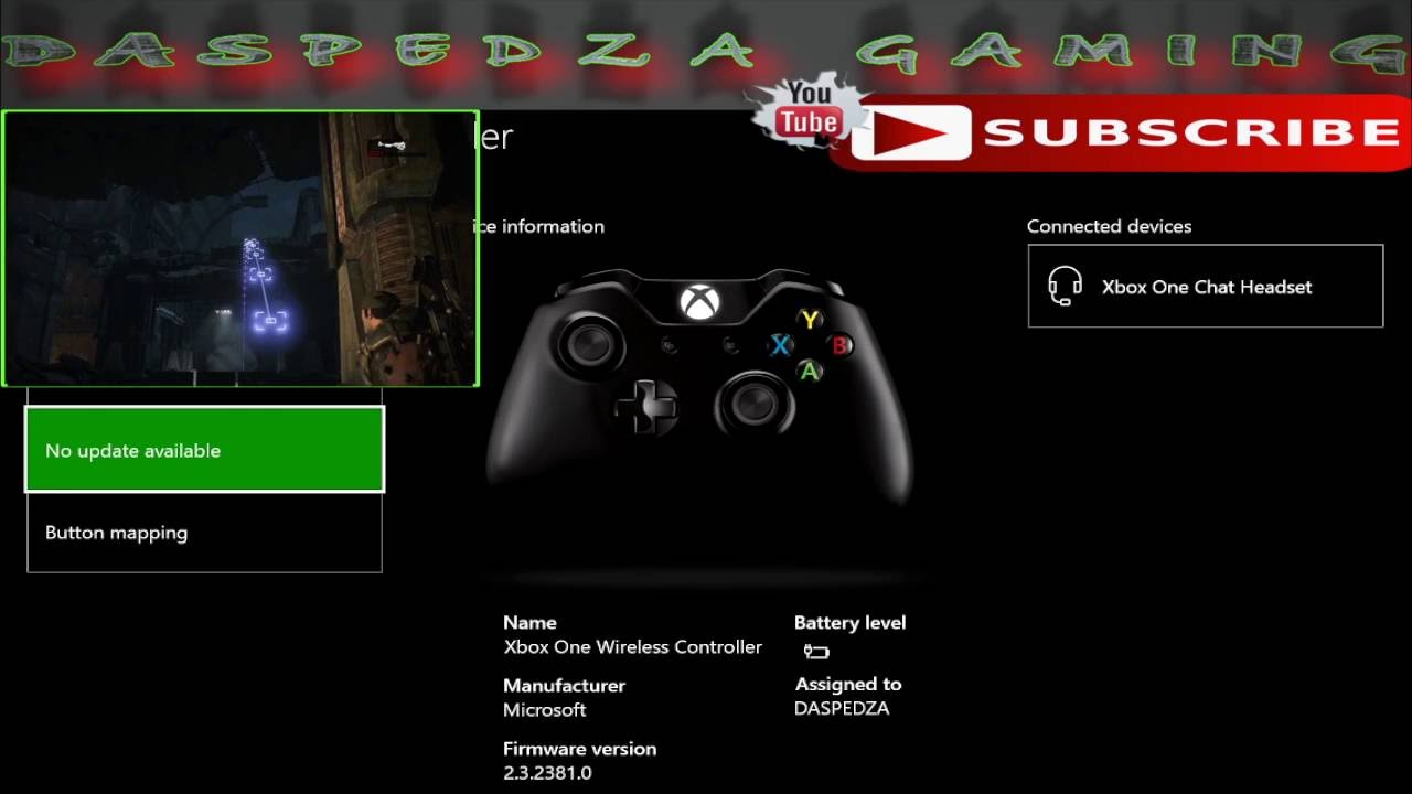 update xbox one controller on pc