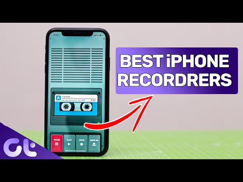 Top 5 Best Audio Recorder Apps For  IPhone & IPad   Guiding Tech