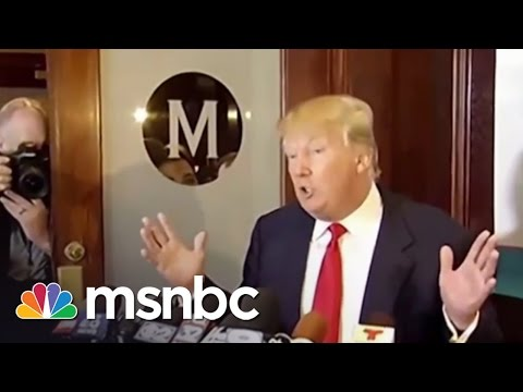 Macy's To Donald Trump: You're fired! | msnbc