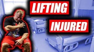 Should You Workout Injured or Just Rest?