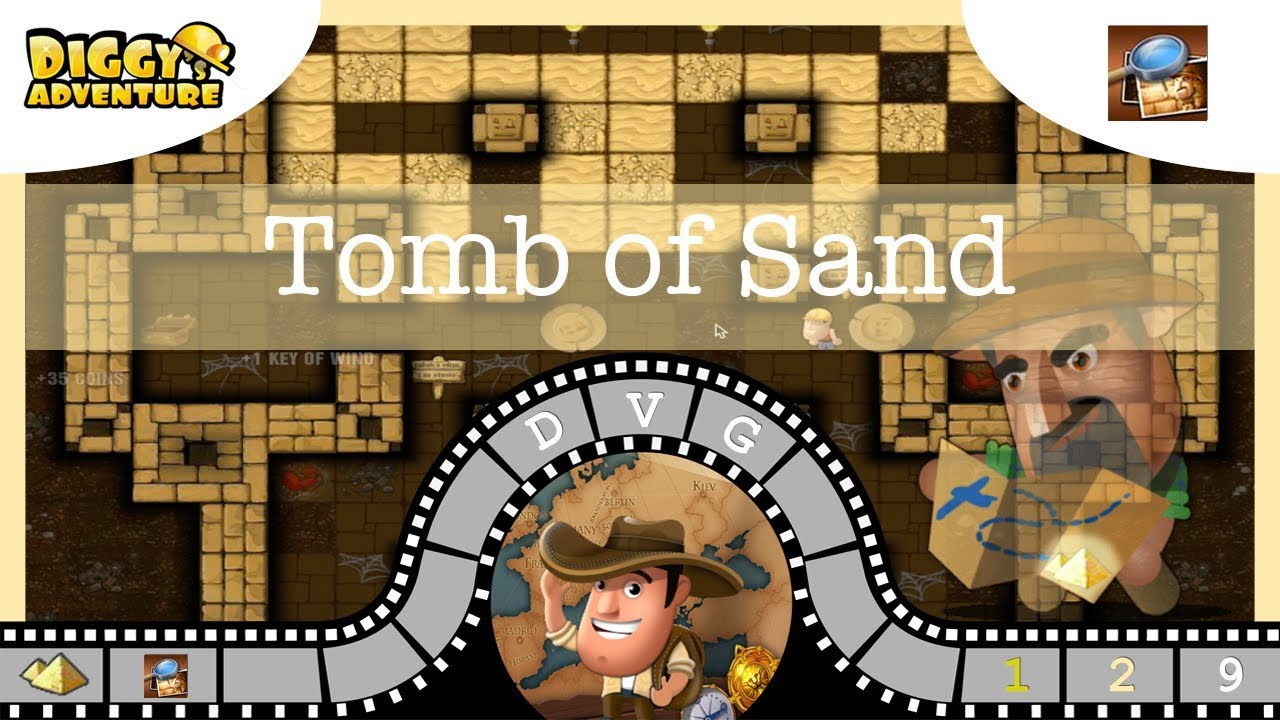 Uncategorized Egypt Puzzle Game egypt father 9 tomb of sand diggys adventure youtube video game