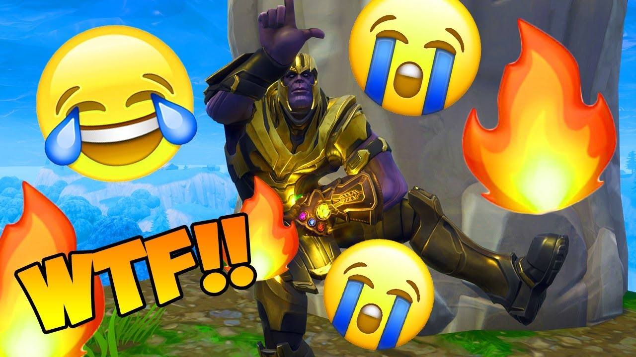 Thanos Performs All Fortnite Dances Emotes And Its Funny Thanos