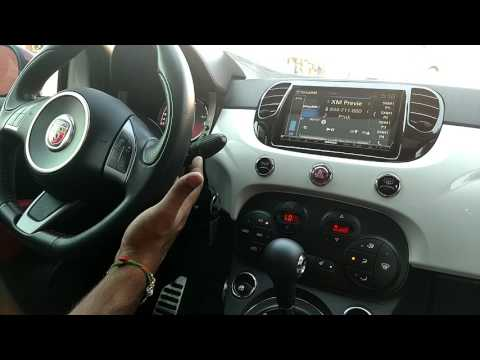 2016 Fiat 500 Abarth With GPS, Back Up Cam And Full Integration