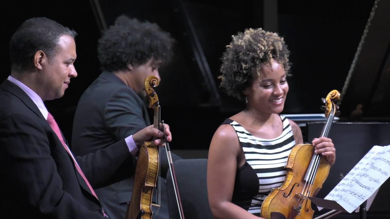 """Pan con Timba"" by Aldo Lopez-Gavilan with the Harlem Quartet"