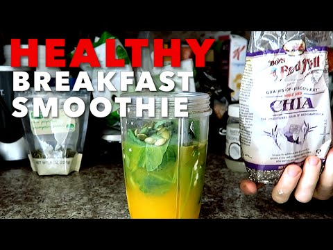 healthy-breakfast-smoothie-to-burn-fat!