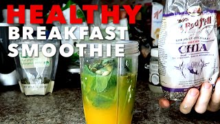 HEALTHY BREAKFAST SMOOTHIE TO BURN FAT!