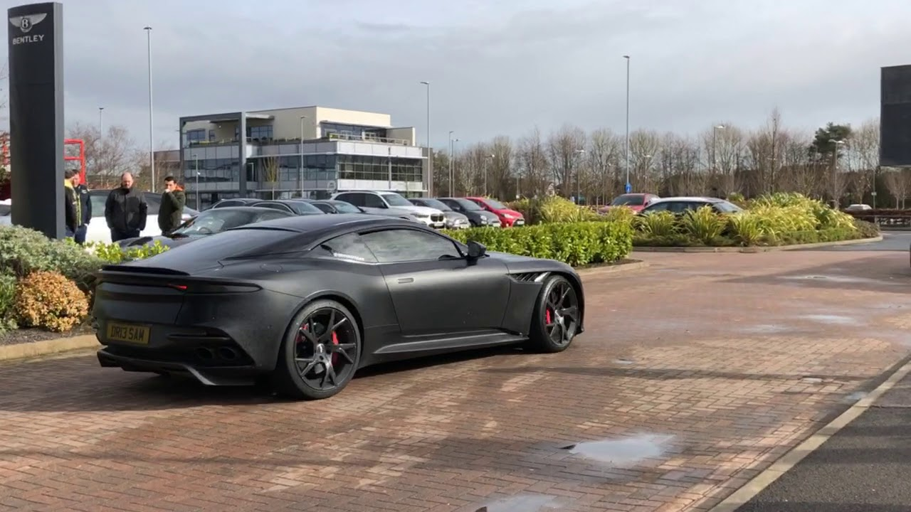 Aston Martin Dbs Superleggera Exhaust Noise Youtube