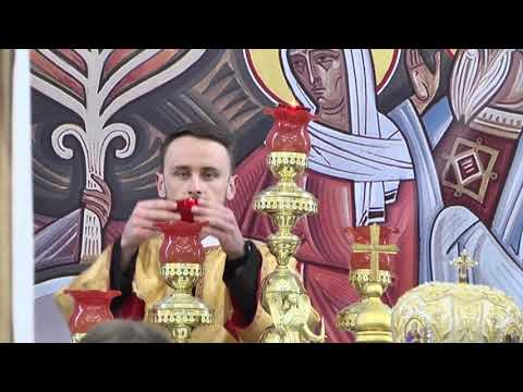 Освячення семінарійного храму у Брюховицькому монастирі (фрагменти)