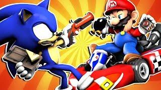 Mario VS Sonic: PRANK BATTLE