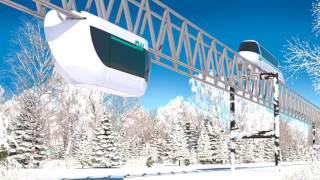Транспорт будущего SkyWay уже выходит на рынок | Успей заработать деньги на этом!