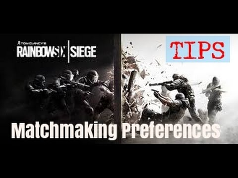 r6 matchmaking preferences