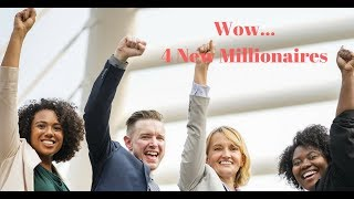 WOW...4 New Millionaires created in EuroJackpot Lottery