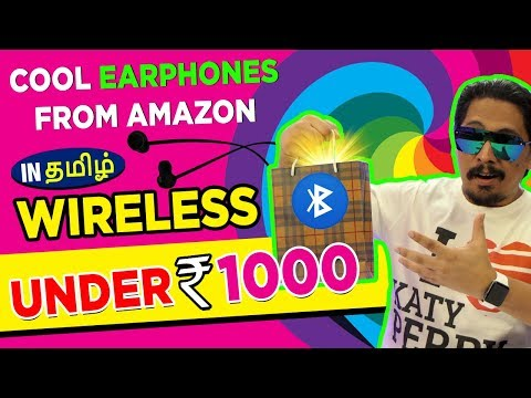 Top Tech In tamil   தமிழ் Cool Bluetooth Earphones under 1000 from AMAZON