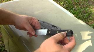 LT Wright Knives One Foot in the Wilderness Genesis