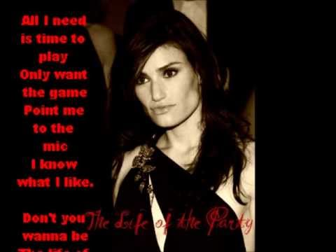 The Life of the Party from The Wild Party sung by Idina Menzel Original Recording