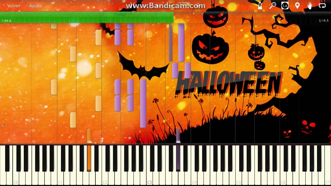 piano tutorial danny elfman this is halloween the nightmare
