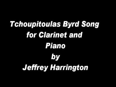 Tchoupitoulas Byrd Song for Clarinet and Piano by Jeffrey Harrington: by Helix New Music Ensemble
