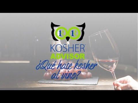 ¿QUE HACE KOSHER AL VINO?