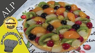 Apprendre à abaisser, foncer, réaliser une tarte aux fruits - ALP