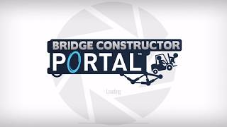 Bridge Constructor Portal Chapter 2 Level 13 Walkthrough Gameplay | Fly like an eagle