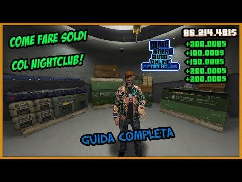 COME FARE SOLDI CON LE CASSE DEL NIGHTCLUB SU GTA 5 ONLINE (GUIDA COMPLETA GTA 5 ITA DLC NIGHTCLUBS)