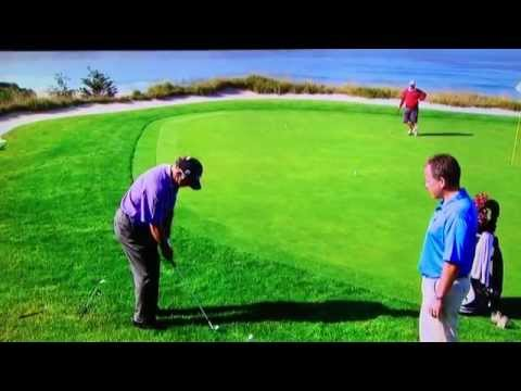 Mark O'Meara - Excellent Pitching Lesson (Pebble Beach)