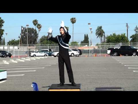 Drum Major Kevin Chang - World Class Conducting - 2012 Drum Major Championships