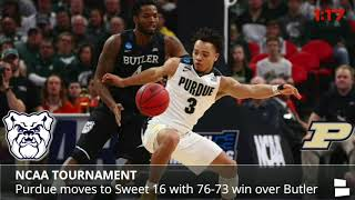March Madness recap, Florida State stuns Xavier, Syracuse upsets Michigan State, Sweet 16 preview 2017 Video