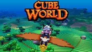 CUBE WORLD - nowy MINECRAFT po 6 LATACH?!