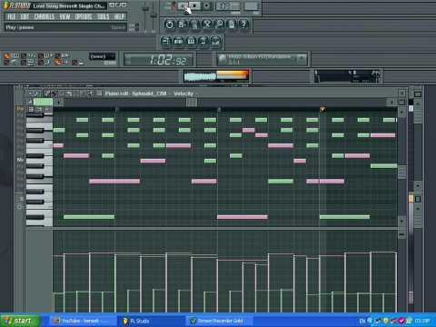 Henselt's Liebeslied Love Song Sequenced In FL Studio 8