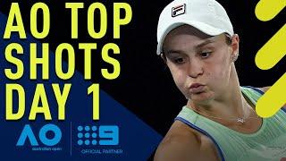 Australian Open Top Shots - Day 1 | Wide World of Sports