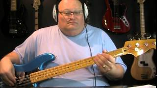 Yes Owner Of A Lonely Heart Bass Cover with Notes & Tablature