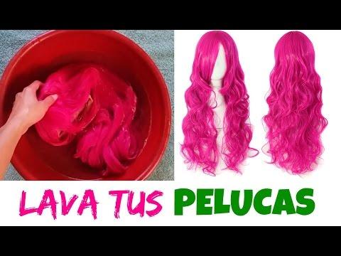 Lavar y desenredar tus pelucas sintéticas  Tips (Yessi) - YouTube 31a306d79e85